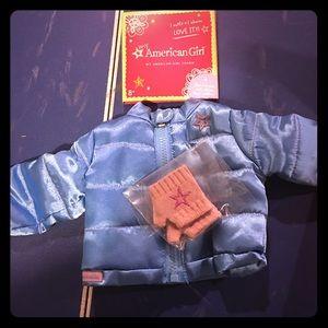 Brand new American Girl puffy jacket!